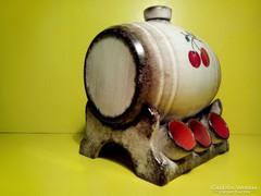 Hummel porcelán hordó + 6 db kupica