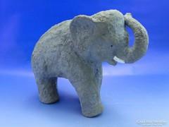 0A759 Iparművészeti KORNFELD kerámia elefánt