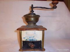 Antik nefelejcses kávédaraló