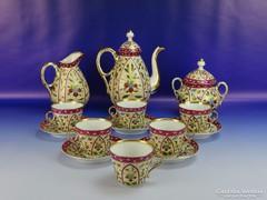 0E775 Antik 1800-as évekbeli teáskészlet