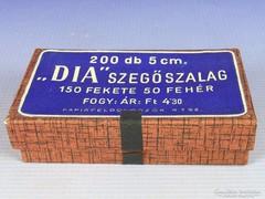 0G101 Régi DIA szegőszalag eredeti retro dobozában