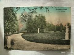 Harkány fürdő Park részlet 1920.