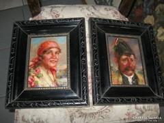 Ivanácz Zsolt festmény , párban eladó