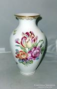 Óherendi váza barokk aranyozással 23cm