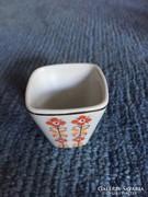 Hollóházi porcelán mini pohár, kupica- gyűjtőknek! (29)
