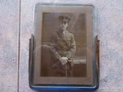 WW1.,Angol tiszt katona foto,keret