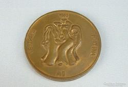 0H223 Veszprém Fortuna bronz érme 1988