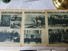 SZÁMOS HORTHY FOTÓ Képes Pesti Hírlap 1929 - 1938