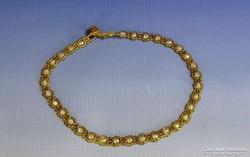 0H395 Retro fűzött gyöngy bizsu női nyaklánc
