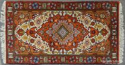 0H946 Régi összekötő szőnyeg 71 x 141 cm