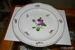 Fischer porcelán tányér