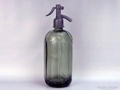 0G750 Régi szódásüveg szifon TURDA 1935