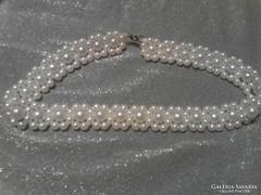 Esküvőre is való kézzel készitett  gyöngy nyakpánt