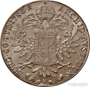 Mária Terézia ezüst tallér 1780 SF UNC