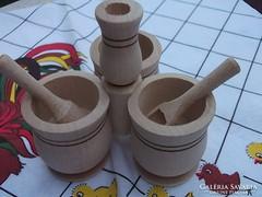 Retro stíl-Asztali fűszertartó-sótartó 3 kanálkával