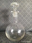 Antik, szakított üveg, fújt dugóval