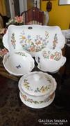 Aysley Cottage Garden kerek angol porcelán doboz