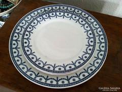 Antik, angol Cauldon sütis és lapos tányér