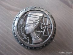 Antik ezüst bross