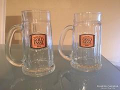 Üveg söröskorsó 6db 0,3l