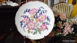 """Royal Albert """"Woodland Roses"""" limitált kiadású tányér"""