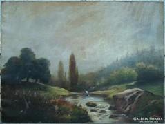 Báró Szvetanay György nagy méretű festménye