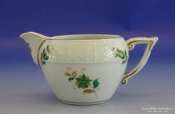 0I384 Régi herendi porcelán tejszínes kiöntő