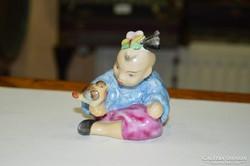 Herendi kínai kicsi figura