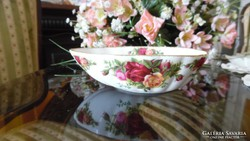 Royal Albert Old Country Roses  avokádó alakú kis kínáló
