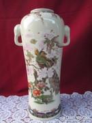 Antik elefántfejes japán váza  0906