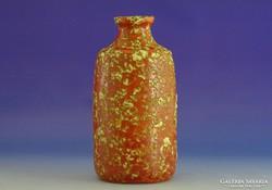0I353 Retro TÓFEJ iparművészeti kerámia váza 21 cm