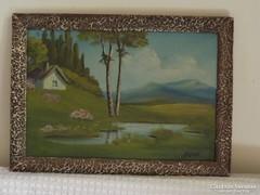 Tájkép - Mónus - Festmény
