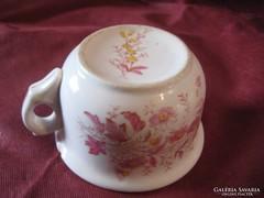 Komacsésze, Rózsaszín Sárga Virágos