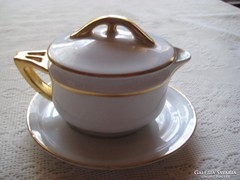 Altwien tejszínes  kiöntő ,nagyon szép, elegáns darab