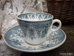 Antik, fajansz csésze - Villeroy&Boch