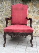 Antik barokk fotel