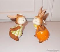 Csodálatos Goebel porcelán puszilkodó nyuszi pár