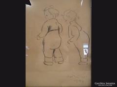 X406 Művészi gyermek ábrázolások 1947