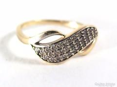 Arany köves gyűrű ( Szeg-Au53947)
