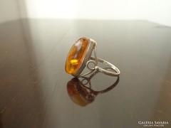 Orosz borostyán gyűrű