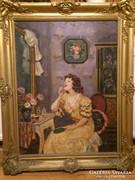 Illencz Lipót Festmény