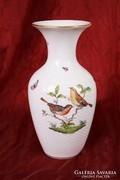 Rothschild mintás Herendi váza - 25 cm
