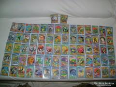 72 darab TINI NINJA kártya - 2006