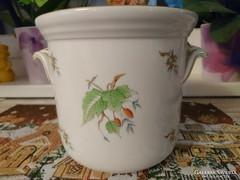 Herendi váza, kaspó,nagy méret Hecsedli mintás