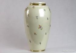 0J681 Régi nagyméretű kerámia váza 35 cm 1921