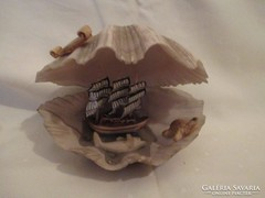 Kagyló dísztárgy-Antalya souvenir.