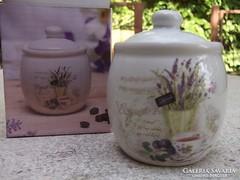 Levendulás fűszertartó aromazáró+doboza