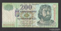 "200 forint 2005. ""FD"".  Ritkább!"