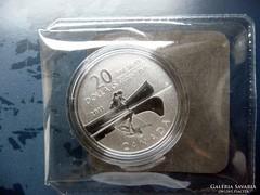 2011 Kanada 20$ Canoe tiszta ezüst érme - Proof