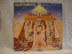 Iron Maiden Powerslave LP bakelit